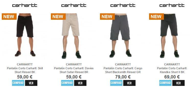 PantalonCorto Carhartt 1