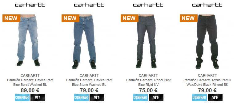 pantalon largo carhartt