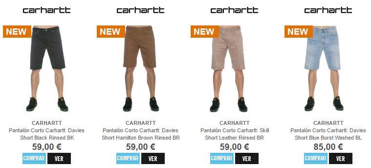 Pantalon Corto Carhartt 2