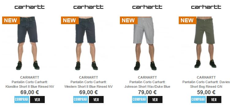 Pantalon Corto Carhartt 3