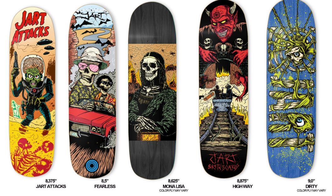 5bd318d059eca Jart Skateboards Pool Series