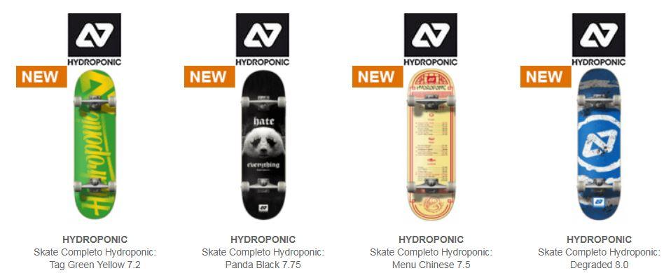 5ccb10366d5f1 Comprar skateboard completo Hydroponic