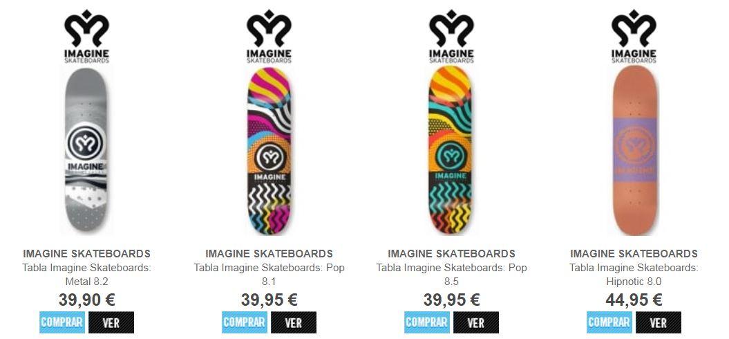 54859e00f3f19 Comprar tábuas de skateboarding Imagine