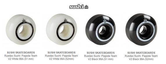 comprar ruedas sushi skateboards