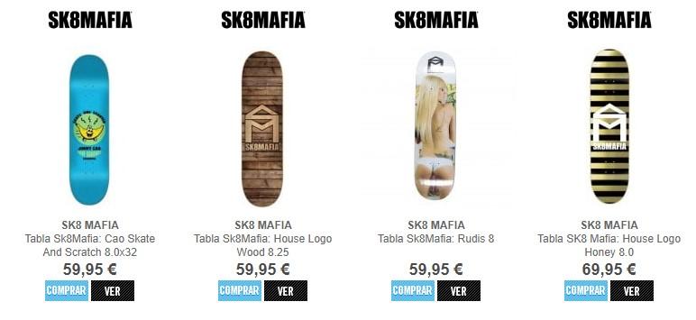 Tablas Sk8 mafia