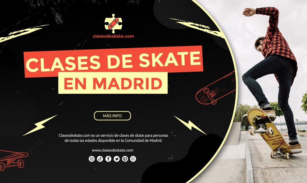 Clases de Skate Madrid - Individuales y Grupales Skateboard