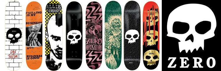 tablas zero skateboards