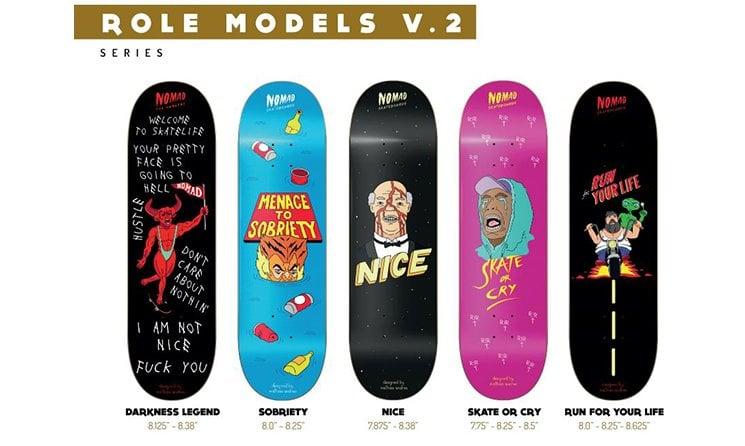 NOMAD Tablas Skate