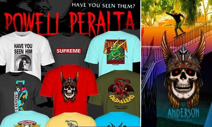 Powell Peralta Tshirts