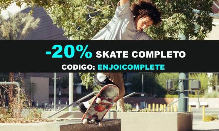 20% Skate Completo