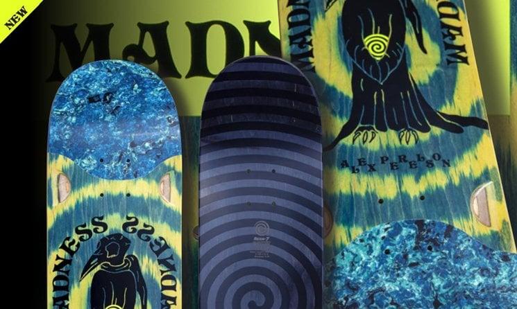 madness skateboard shop