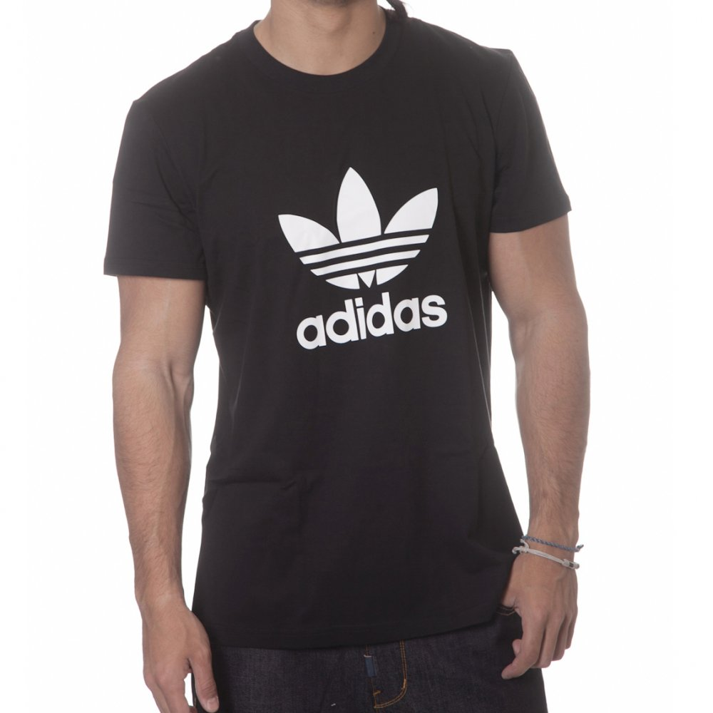 0e6732404c3c1 Camiseta adidas originals  ADI Trefoil BK ...