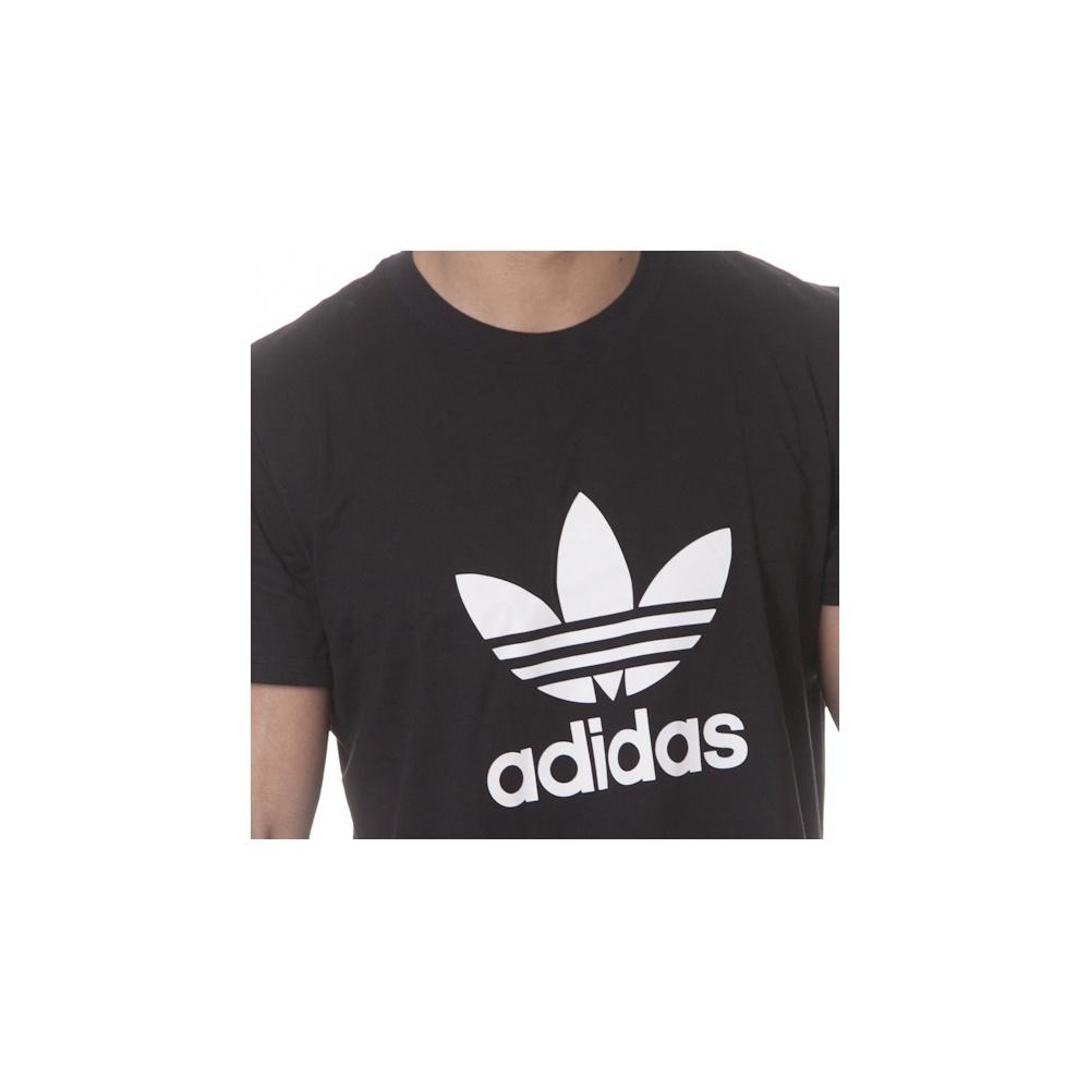 058d140557c ... Camiseta adidas originals  ADI Trefoil BK ...