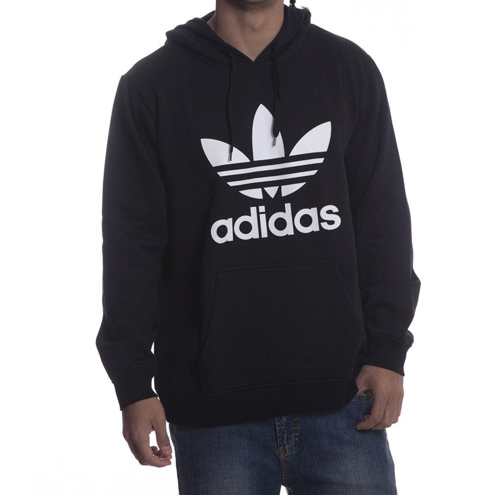30b20a98562be Sudadera Adidas Originals  ADI Trefoil HO BK ...