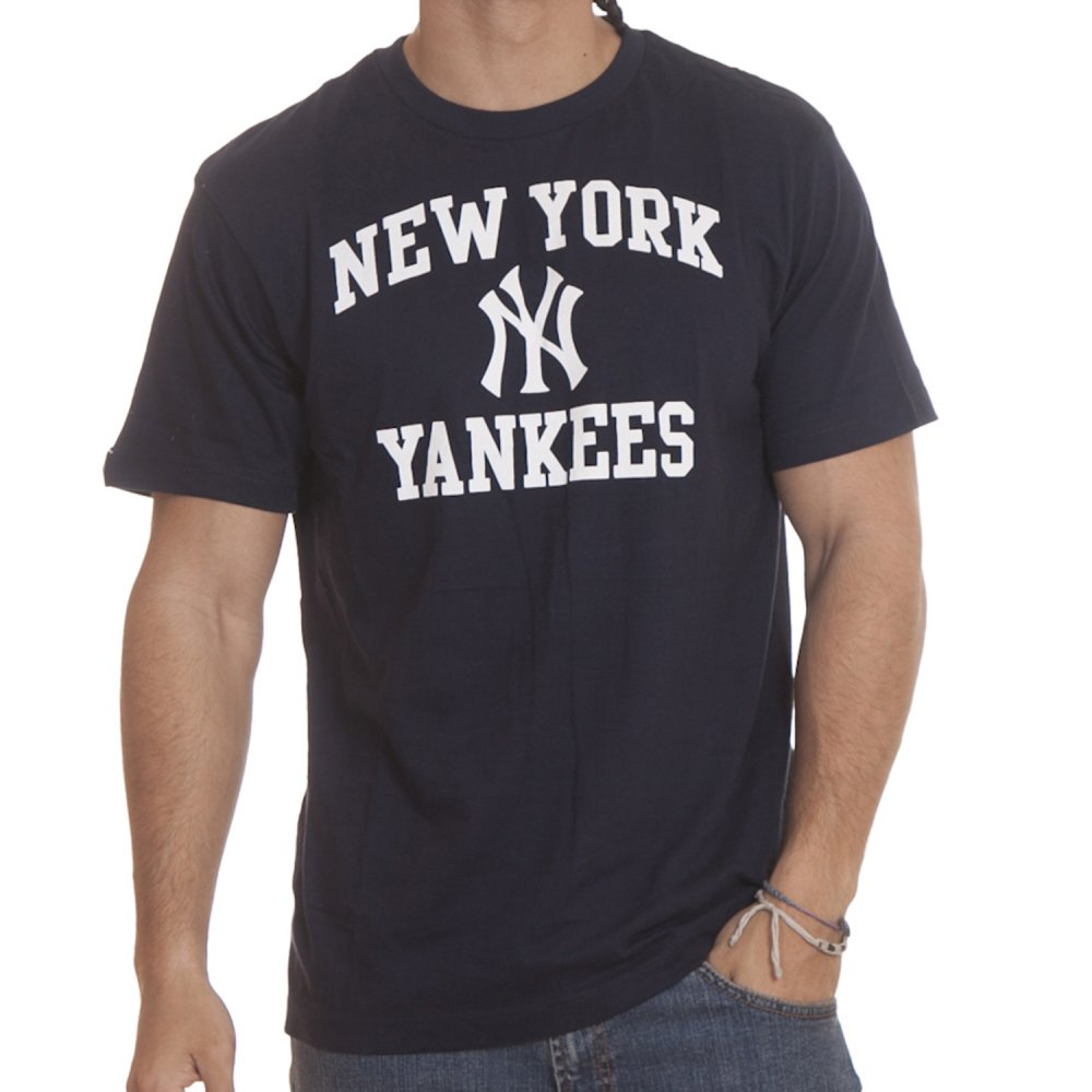 Camiseta Majestic MLB  Karweg New York Yankees NV . 0c3a38fbecb
