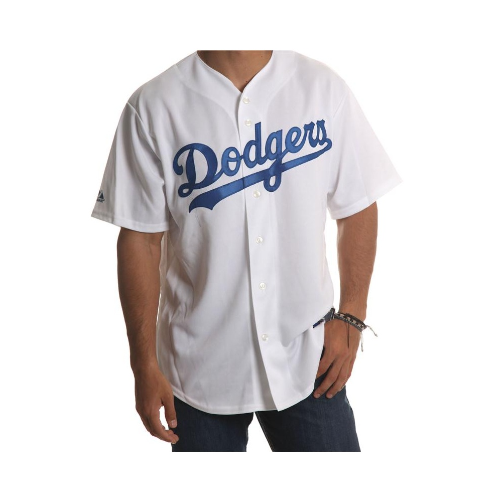 b58ed25cbdffd Camisa MLB Majestic  Dodgers WH