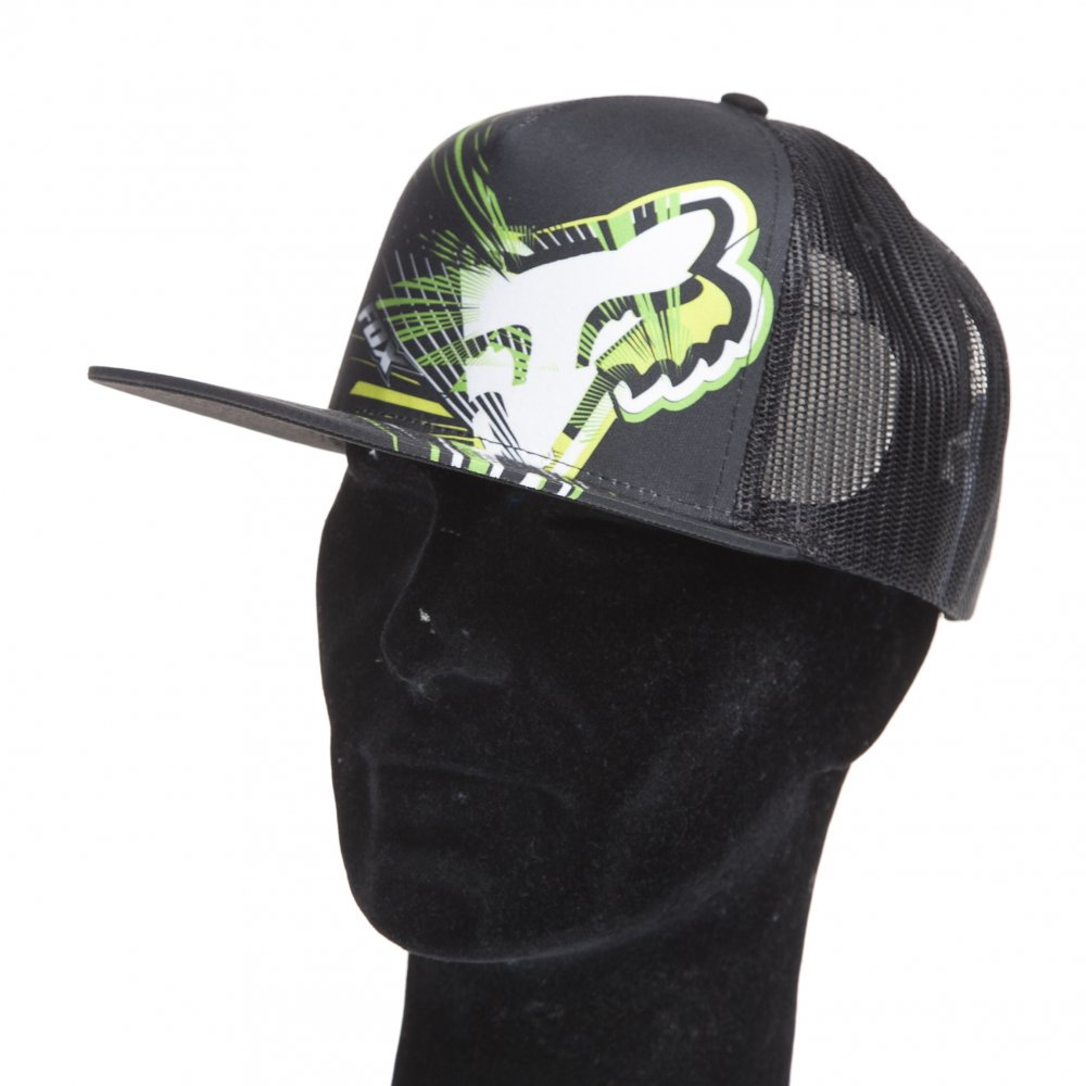 Gorra Fox Racing  Spillage Snapback Hat BK ... d1682c62fbc