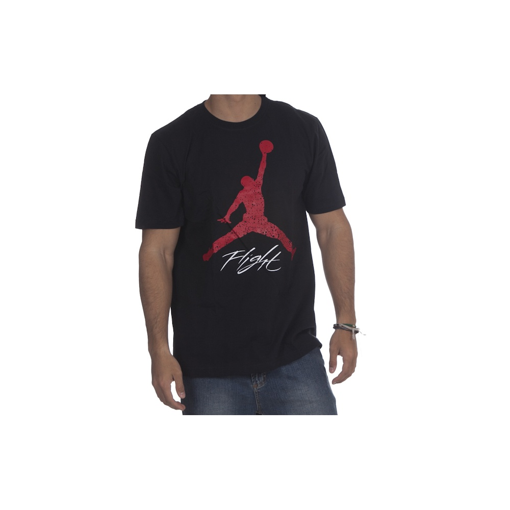 huge selection of 871ef 65872 Camiseta Jordan Flight Jumpman BK