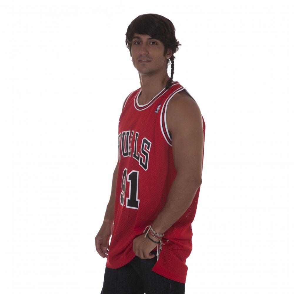 Camiseta NBA Adidas: Bulls Rodman RD - Comprar online - Tienda Fillow