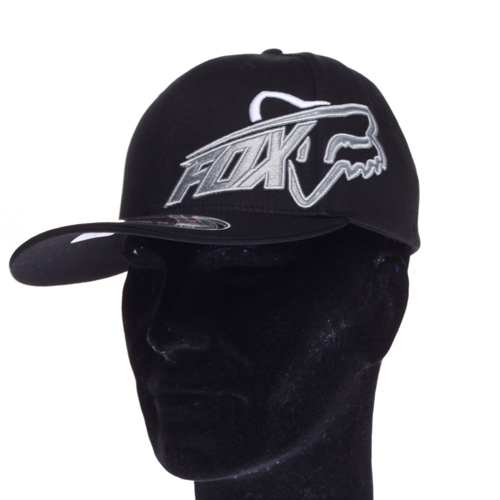 Gorra Fox Racing  Constant Shift Flexfit Hat BK GR ... fdb1ea98ba1