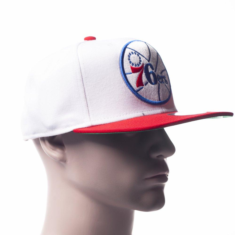 7877c25dbde5c ... Gorra Mitchell   Ness  NJ16Z Philadelphia 76ers WH. ‹