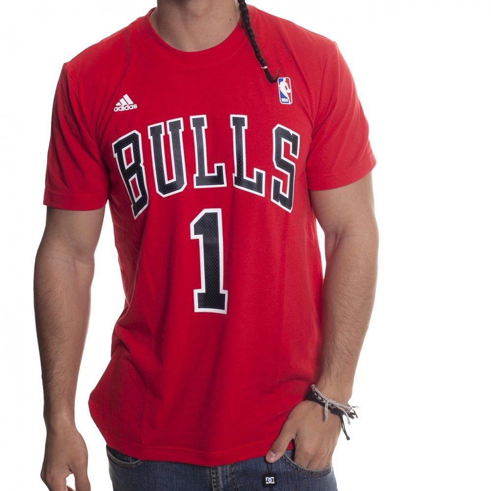 7563b4cdbd Camiseta NBA Adidas: Chicago Bulls Gametime RD | Comprar online ...