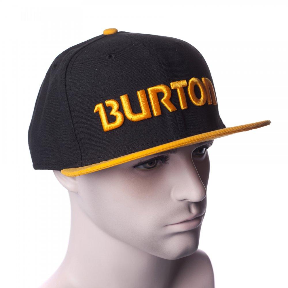 ... Gorra Burton  Solo NE BK OR ... 4fb96d303fb