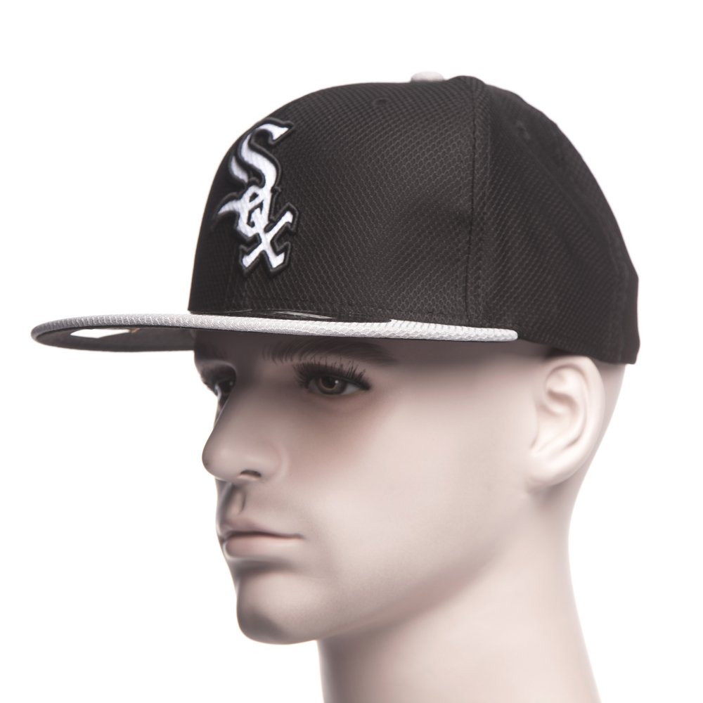 Gorra New Era  Diamond Era Chicago White Sox BK GR ... a9e20d75bb9