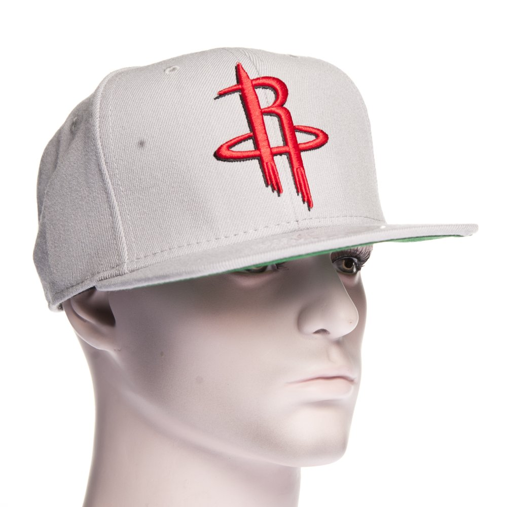 70a9a9f91e120 ... Gorra Mitchell   Ness  NZ979 Houston Rockets GR. ‹