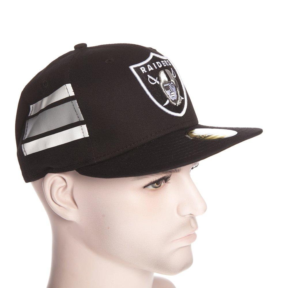 6a8a934bc1f3f ... Gorra New Era  NFL Team Stripe Oakland Raiders BK. ‹