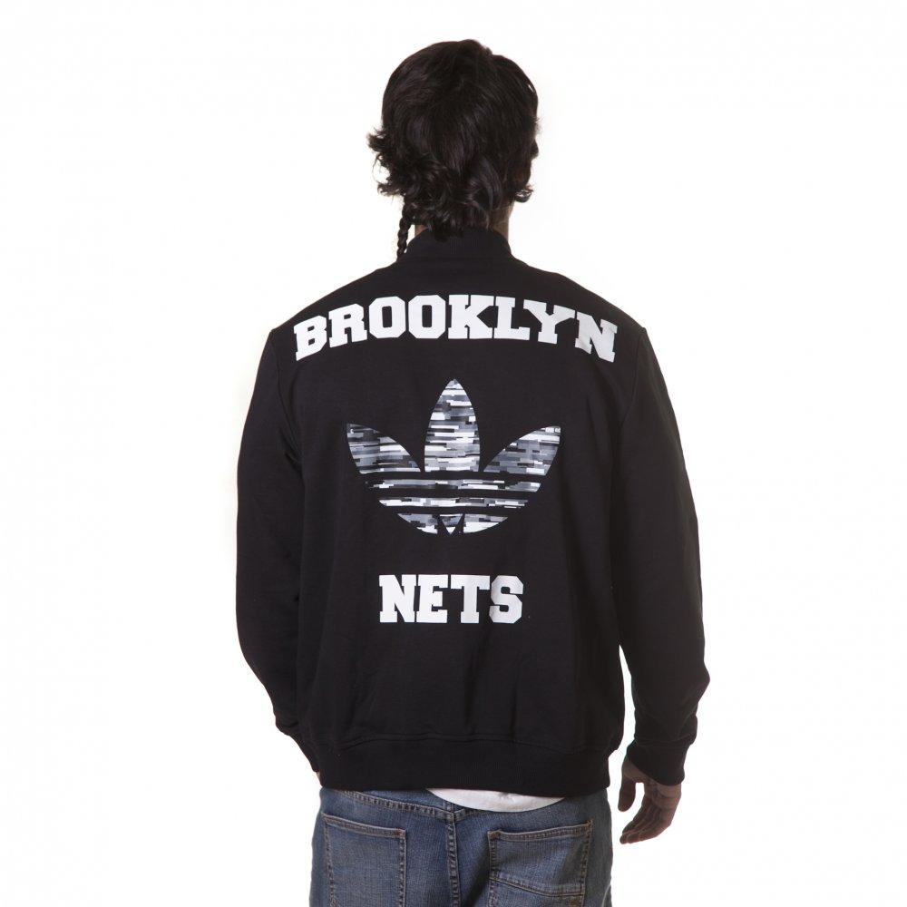 Chaqueta Comprar Nets Online Brooklyn Tienda Adidas Nba Bl Fillow aBXra