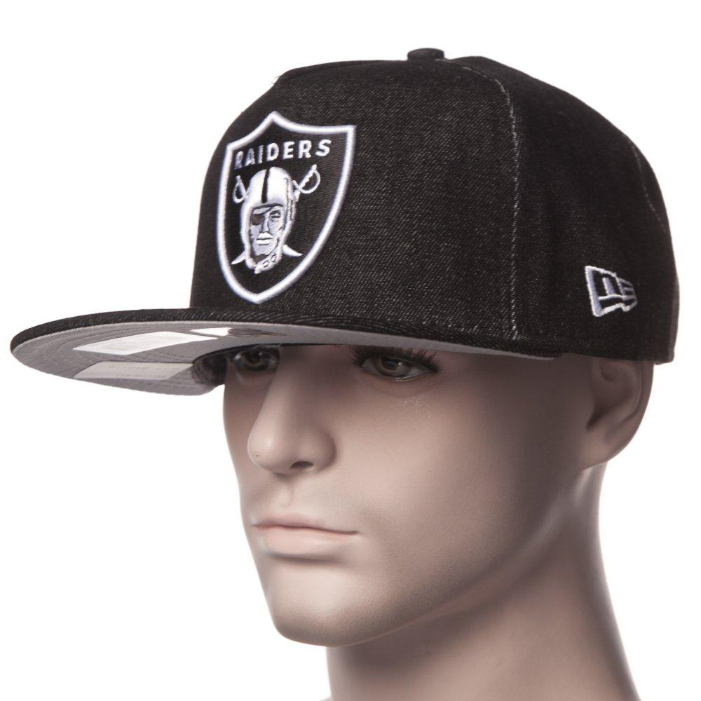 Gorra New Era  NFL Denim Snap Raiders BK ... 4c2c0c433ff