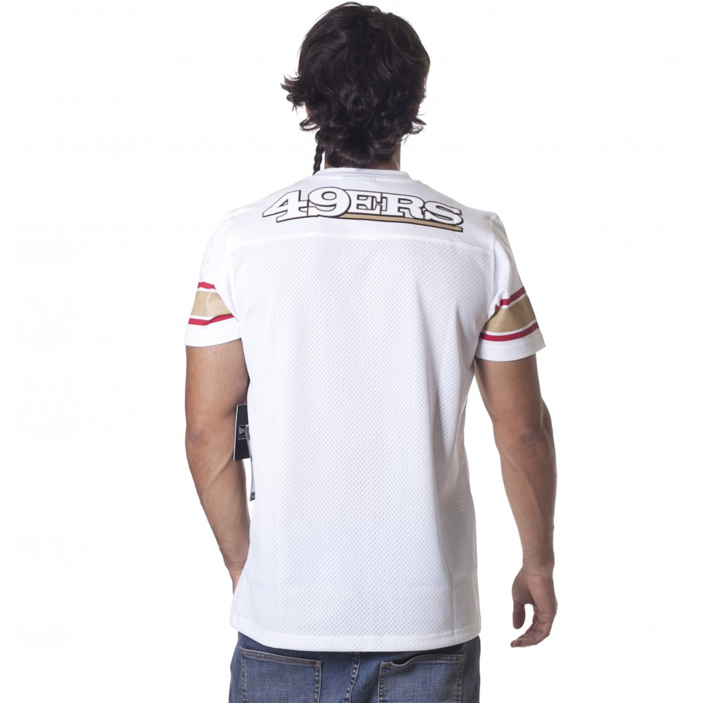 ... Camiseta New Era  NFL Supporters Replica San Francisco 49ers WH ... 9ea0b7d5143