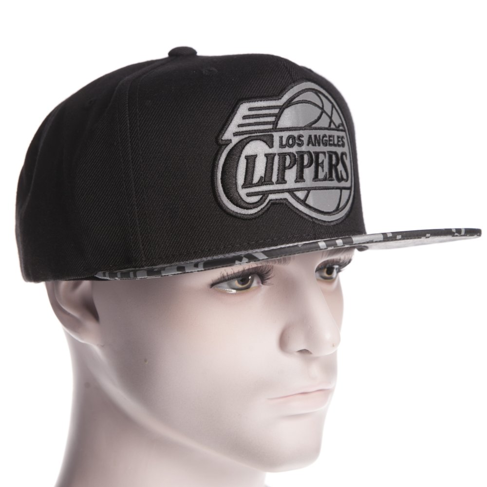 1d15fb3d03a2a ... Gorra Mitchell   Ness  VE36Z LA Los Angeles Clippers BK ...