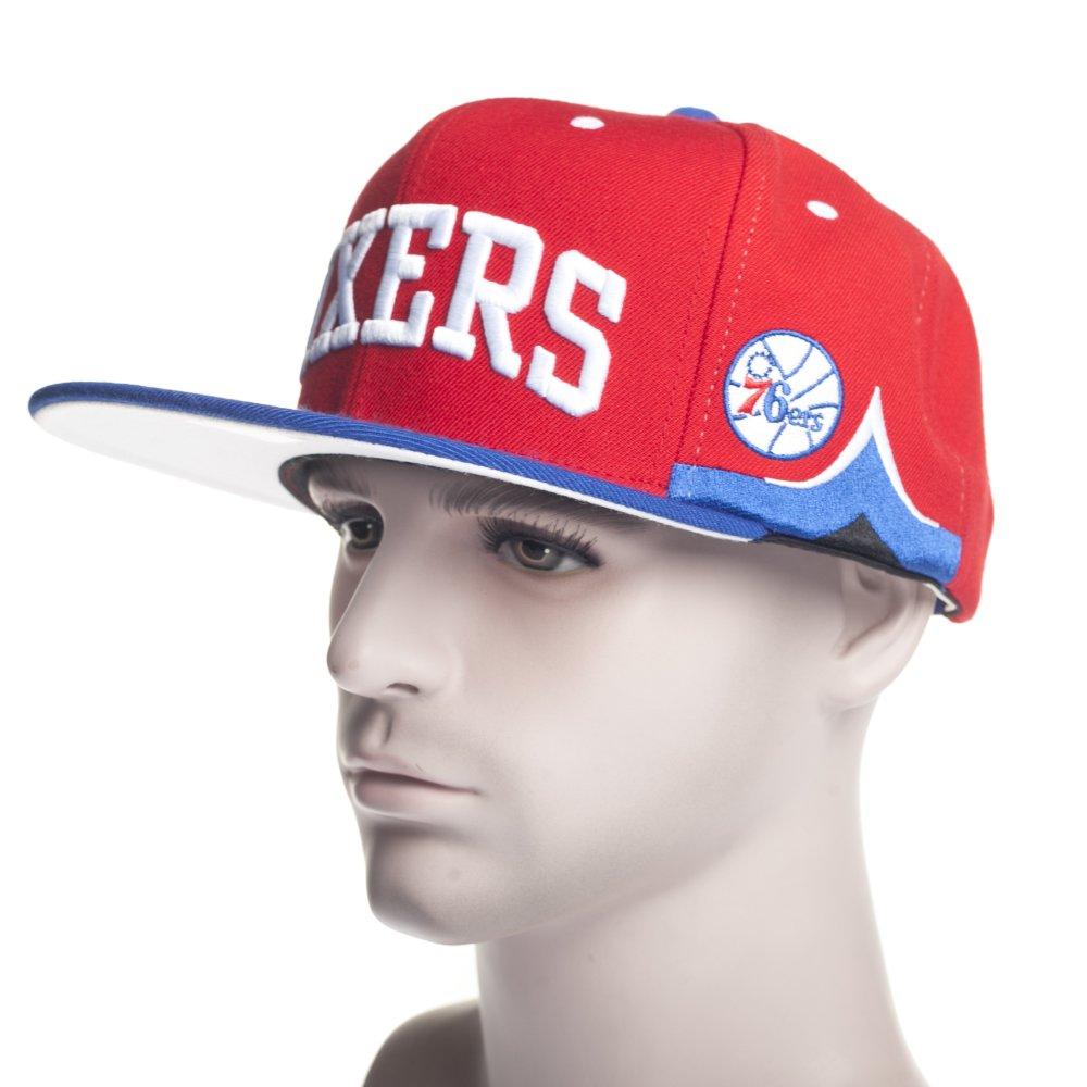 9e86774904fbd Gorra Mitchell   Ness  VF73Z TeamShortJersey SB - Philadelphia 76ers RD BL  ...