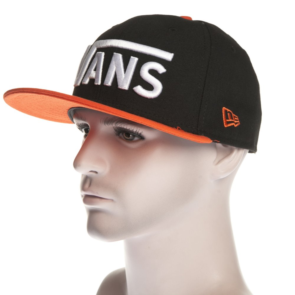 Gorra Vans  M Drop V New Era Black Tigerli BK OR ... 25ea740915d