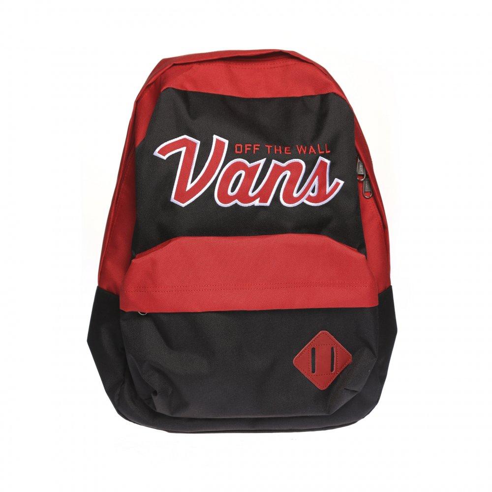 92336959124e0 Mochila Vans  M Old School II Backpack BK RD ...