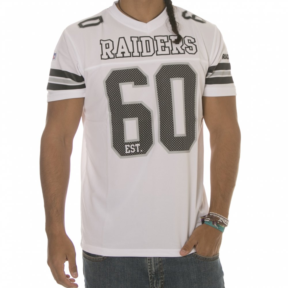 Camiseta NFL Majestic  Oakland Raiders WH ... 5af9ceaffb23f
