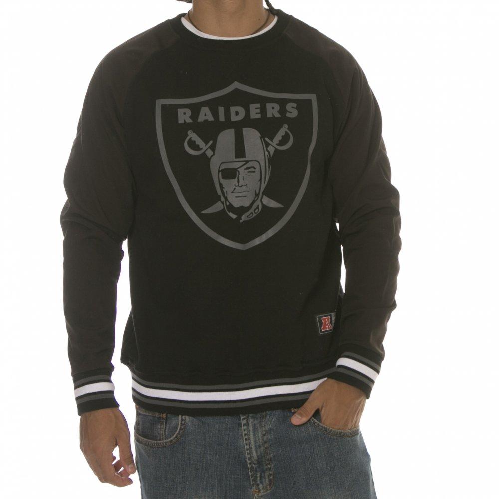 en venta a9935 40cc4 Sudadera Majestic: Oakland Raiders NFL Crew BK | Comprar ...