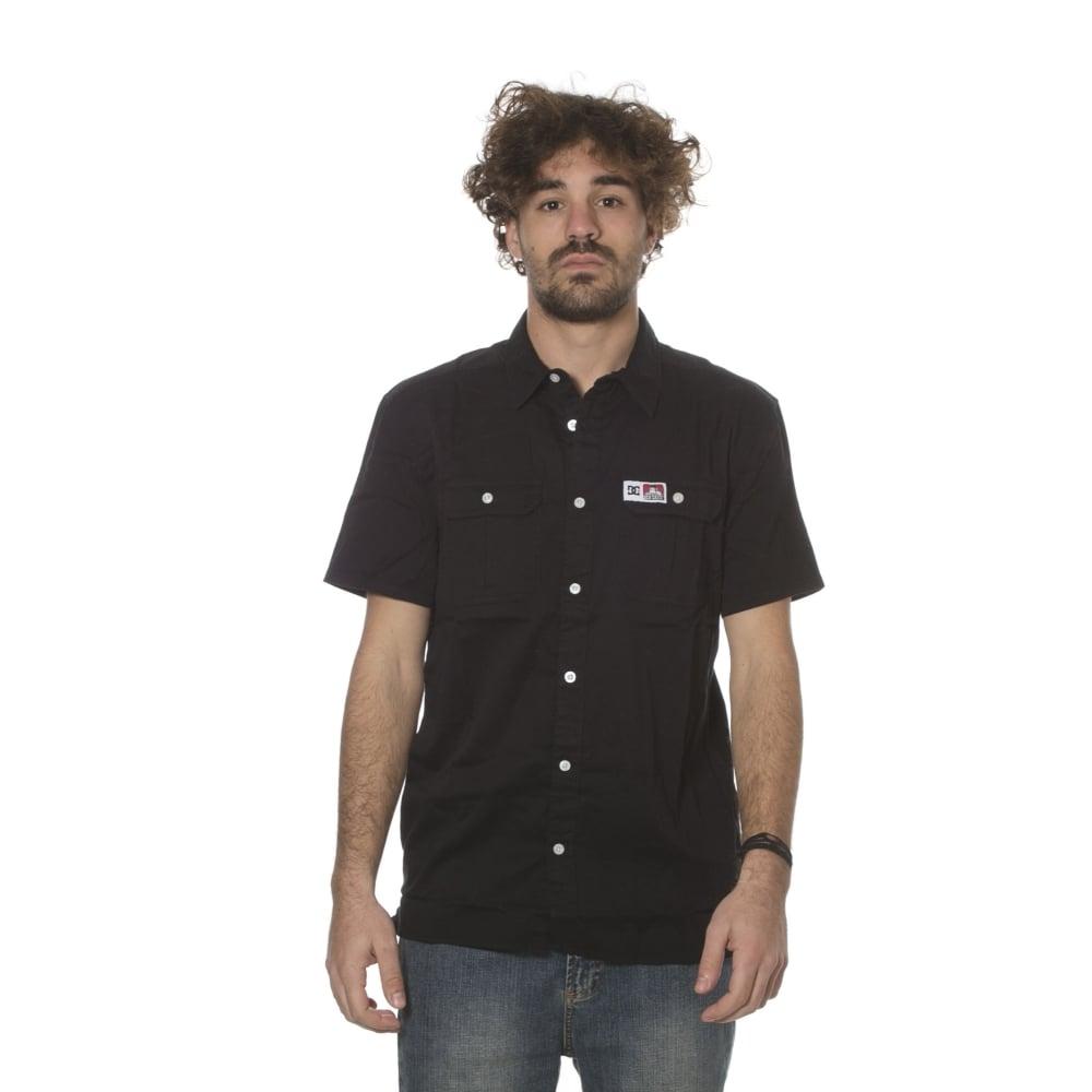 Camisa Dc Shoes Ben Davis Kvj Bk Comprar Online Tienda Fillow