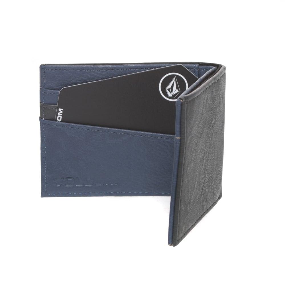 lo último 03a4e 828e3 Cartera Volcom: Slimstone PU Wallet Putty GR/NV
