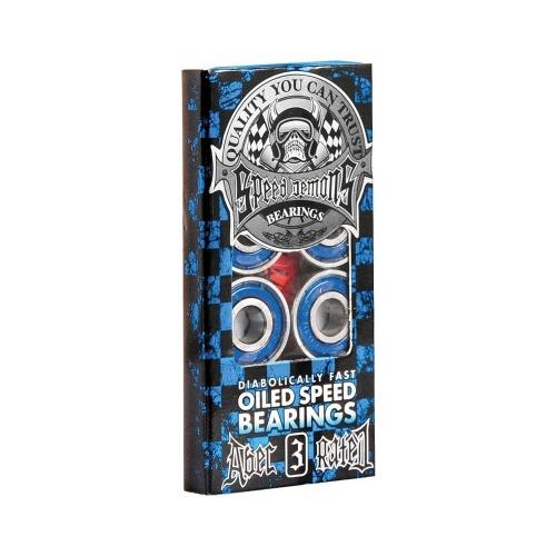 Rodamientos Speed Demons: Bearing Blue (Abec 3)