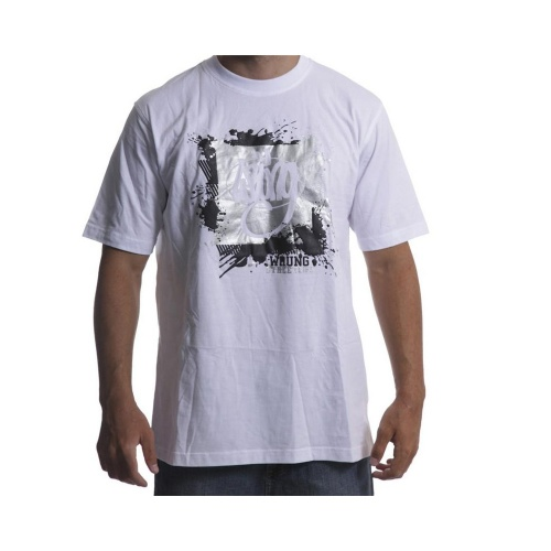 Camiseta Wrung:Painted Logo WH