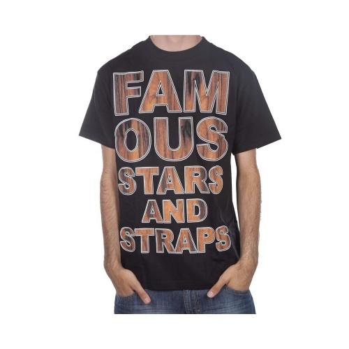 Camiseta Famous Stars&Straps: Rosewood Type BK