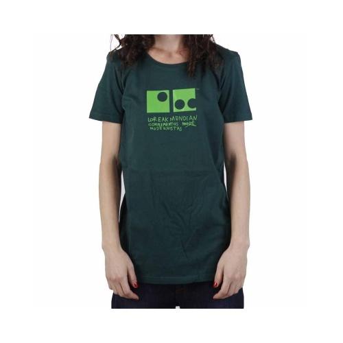Camiseta Chica Loreak Mendian: Jon Fine GN