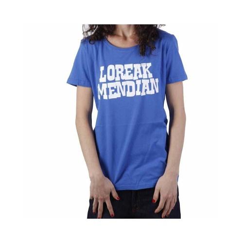 Camiseta Chica Loreak Mendian: Letrasigo NV
