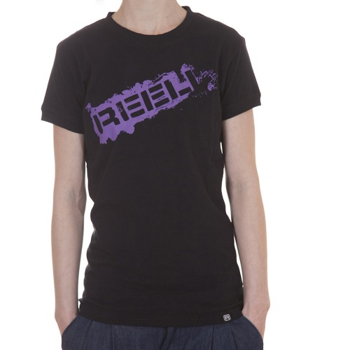 Camiseta Chica Reell: Stamp BK