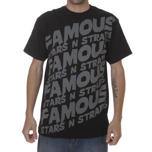 Camiseta Famous Stars&Straps: Step Up BK