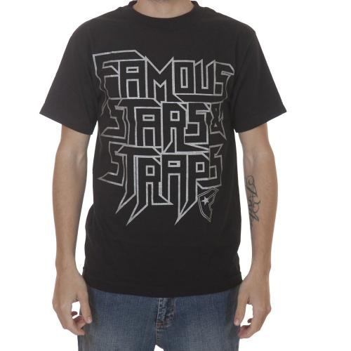 Camiseta Famous Stars&Straps: Toxic BK