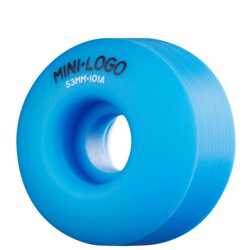 Ruedas Mini-Logo Skateboards: C-Cut Blue (53 mm)
